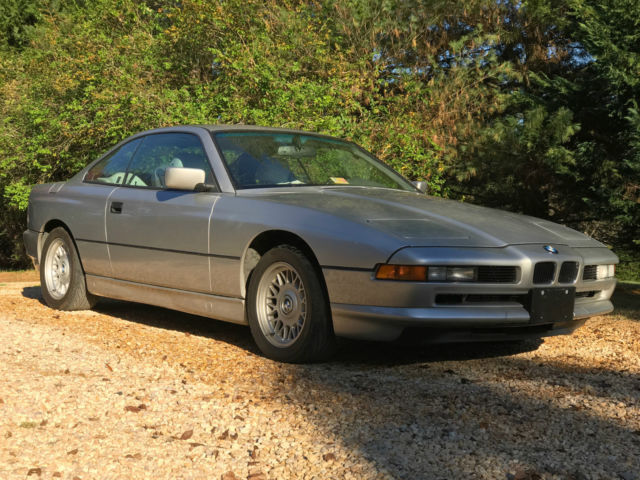 1992 BMW 8-Series Base Coupe 2-Door