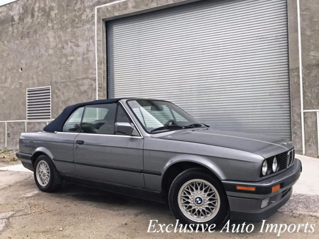 1992 BMW 3-Series E30 325i CONVERTIBLE 5-SPEED MANUAL RARE VINTAGE