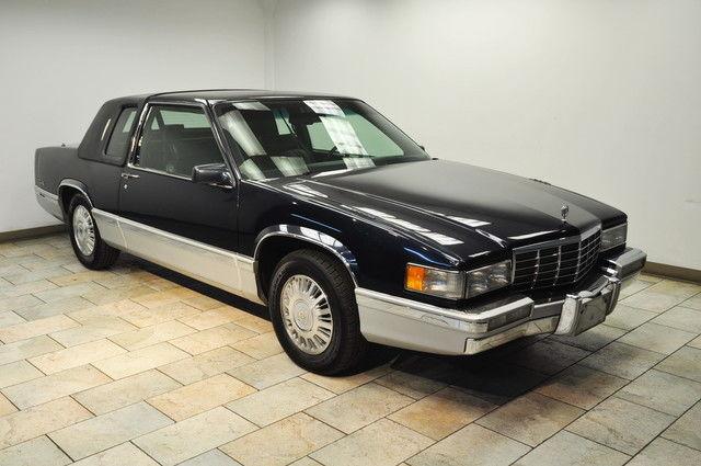 Cadillac Deville Coupe Low Miles Rare Color Combo