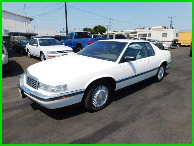 1992 Cadillac Eldorado Used 4.9L V8 16V Automatic Coupe NO RESERVE