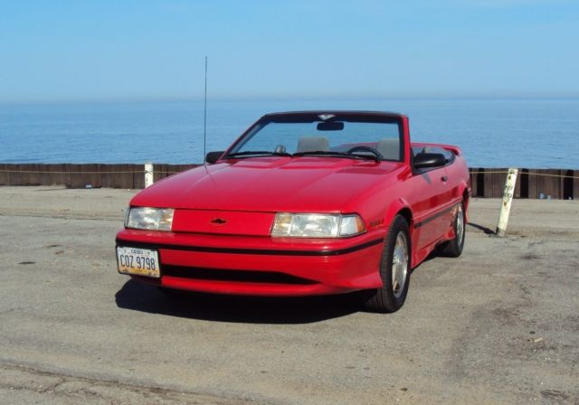 1992 CHEVROLET CAVALIER Z24 CONVERTIBLE for sale photos