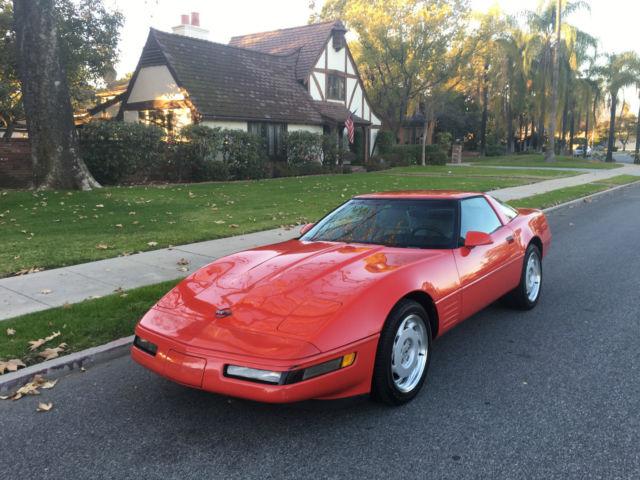 1992 Chevrolet Corvette C4 Hatchback 2Door 57L LT1 Only 86133