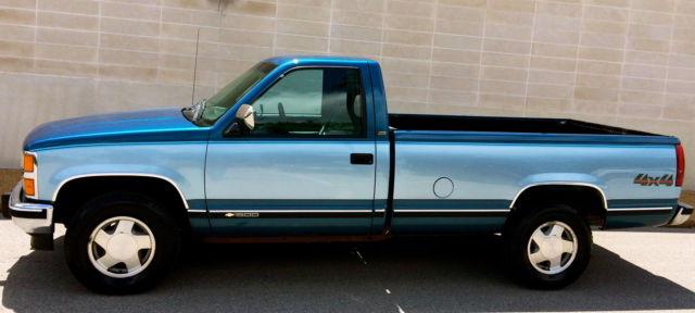 "1992 Chevrolet K1500 Silverado 4x4""Only 73K"" Near Mint ..."