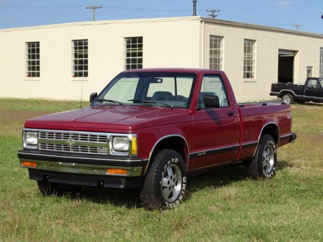 1992 Chevrolet S10 Low Miles With 1 Owner 4x4 From North Carolina Mint Truck