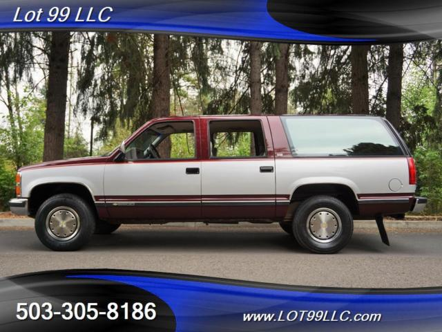 1992 Chevrolet Suburban C2500 92k 454 7.4l Like New