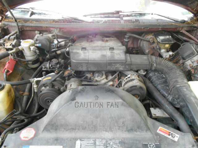 1992 Chevy Caprice Classic 9 Passenger Station Wagon And