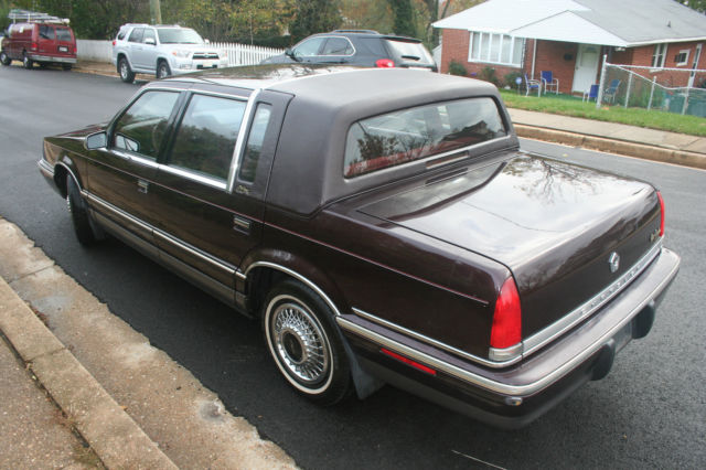 1992 chrysler new yorker fifth avenue for sale photos technical specifications description. Black Bedroom Furniture Sets. Home Design Ideas