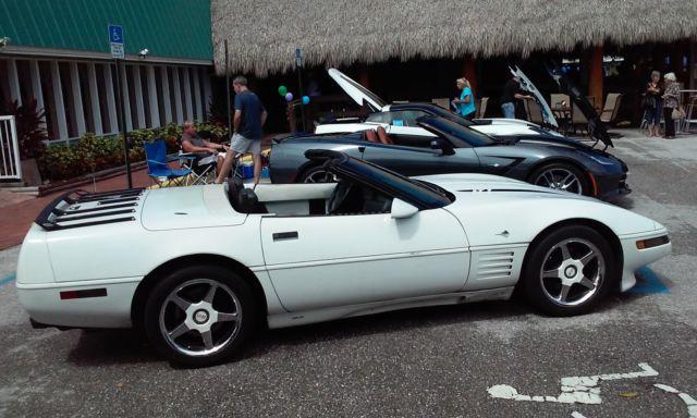 1992 corvette convertible 6 speed LT1 for sale photos technical