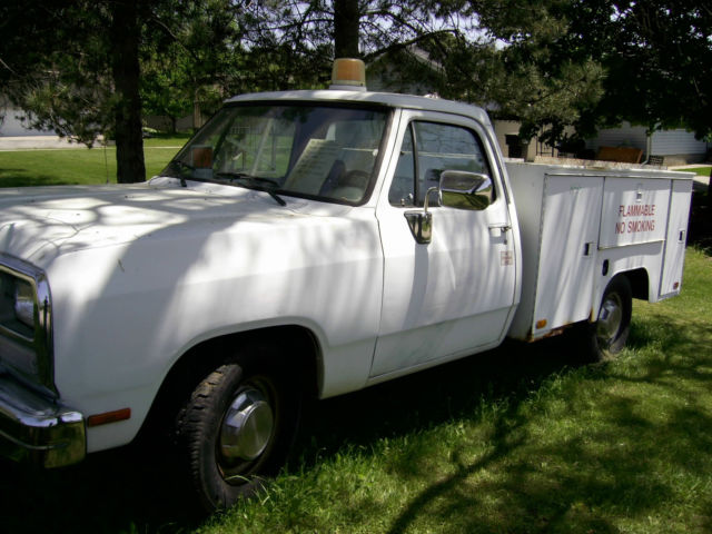 1992 Dodge Other Pickups SERVICE BODY