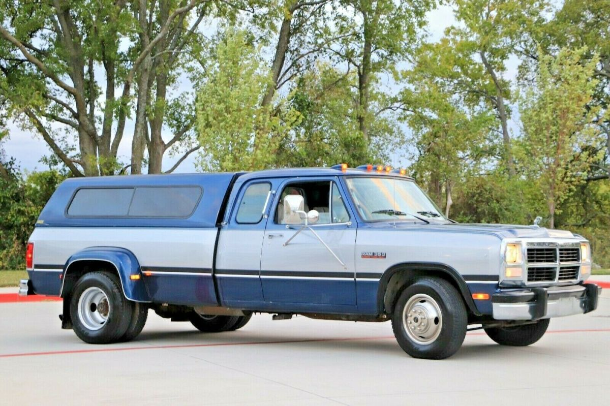 1992 Dodge Ram 3500 Turbo Diesel, 5 Speed Manual, 82k miles