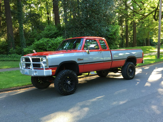 1992 Dodge Ram 2500 Ram, 2500, W350, 4x4, Lifted, 5.9L,12 Valve Diesel