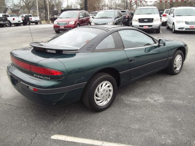 1992 Green Dodge Stealth Hatchback with Gray interior