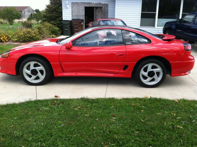 1992 dodge stealth r t 3 0 twin turbo red 5 speed for sale photos technical specifications. Black Bedroom Furniture Sets. Home Design Ideas