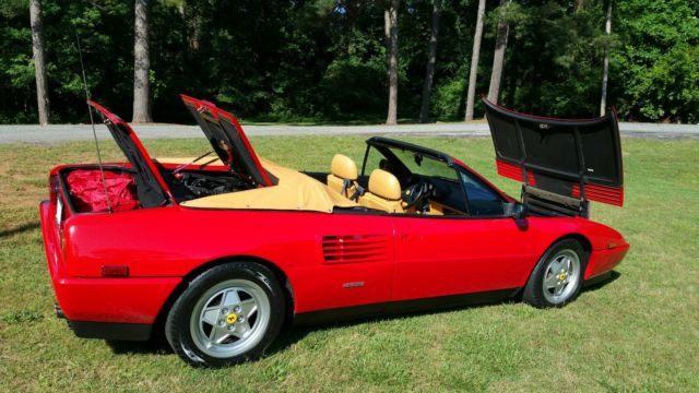 1992 ferrari mondial t 11 600 miles prices are going up on primo mondials. Black Bedroom Furniture Sets. Home Design Ideas