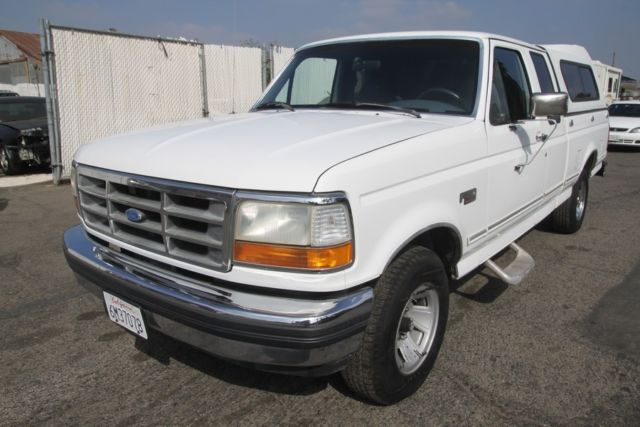 1992 Ford F-150 XLT Extended Cab Pickup 2-Door