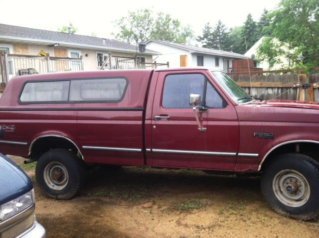 1992 Ford F-250 regular cab 2 door