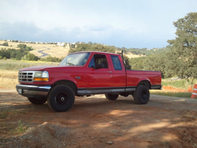 1992 Ford F-150 XLT 4wd