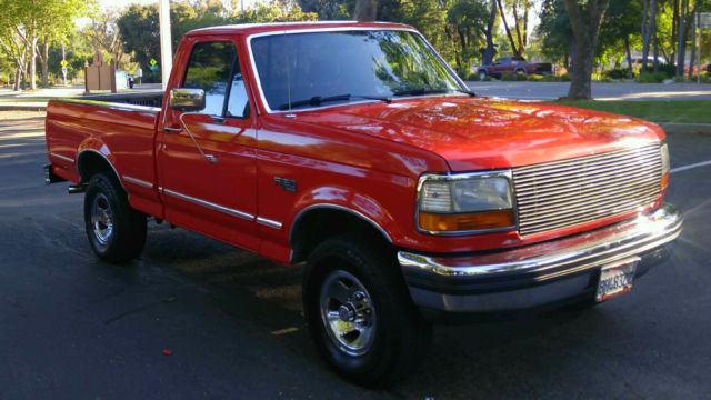 1992 Ford F-150 XLT 4X4 SHORT BED 5.0 EFI V8 *** 62,435 MILES ***