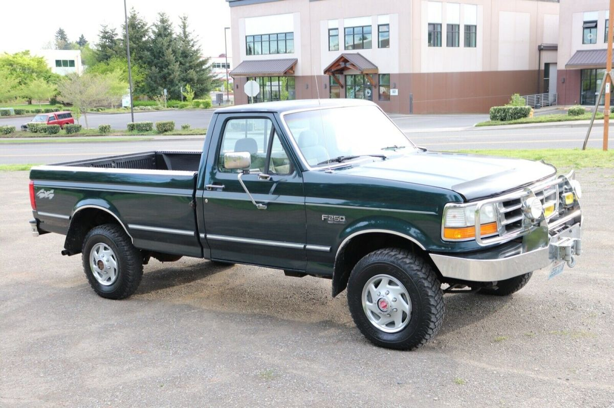 1992 Ford F250 Regular Cab 4x4 Low Miles Obs 1993 1994 1995 1996 1997 For Sale Photos Technical Specifications Description
