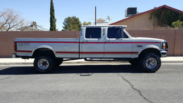 1992 Ford F-350 7.3 TURBO DIESEL CREW CAB 159K MILES *NO RESERVE*