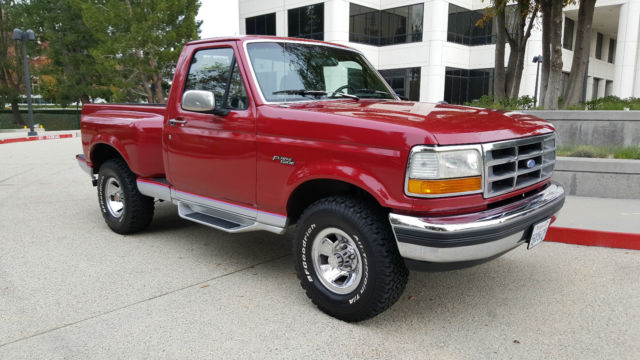 1992 ford flareside f150 xlt 4x4 5 8 efi 351 v8 automatic a c p s p b c c 4wd for sale photos. Black Bedroom Furniture Sets. Home Design Ideas