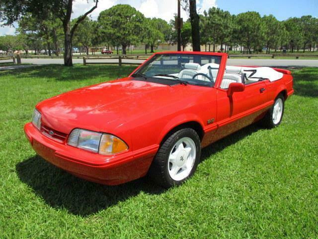 1992 Ford Mustang Convertible LX Sport Must See