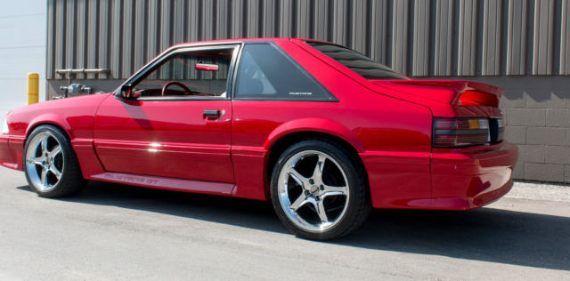 1992 Ford Mustang GT 50 Five Speed Mint Condition High End Must