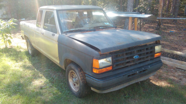 1992 Ford Ranger Custom Extended Cab Pickup 2-Door