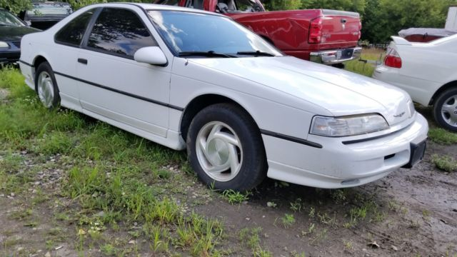 1992 Ford Thunderbird Sc Supercharged Built Engine Huge Blower For