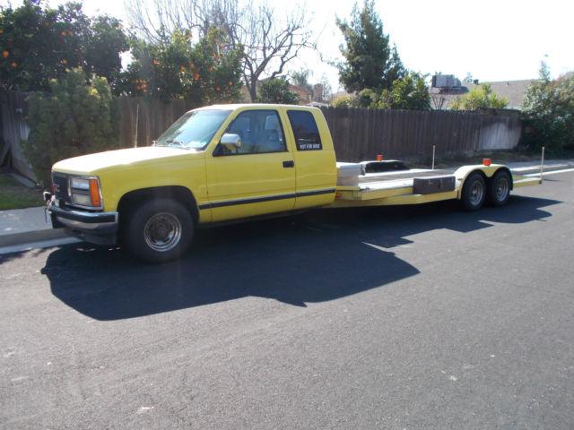 Front Wheel Drive Hauler : Gmc car hauler ramp truck for sale photos technical
