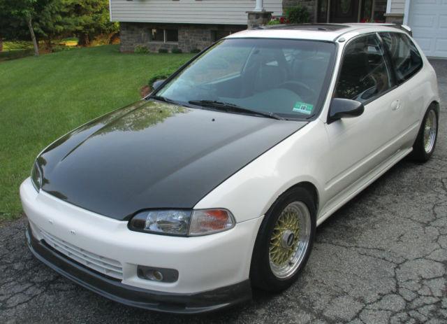 1992 Honda Civic Eg Hatchback B18c For Sale Photos Technical Specifications Description