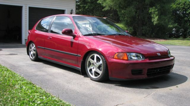 1992 Honda Civic Hatchback DX for sale: photos, technical ...