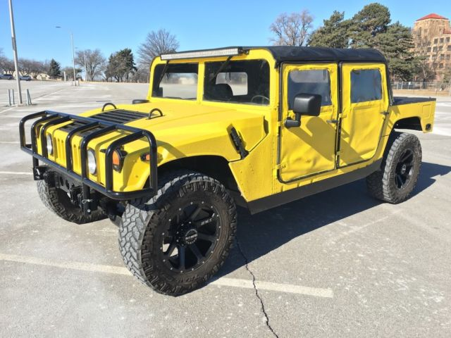 1992 Hummer H1 Open Soft Top 4 Door