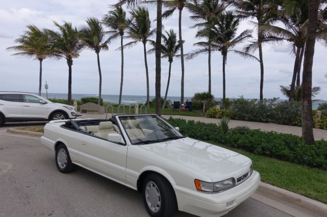 1992 INFINITI M30 CONVERTIBLE LOW MILES EXCELLENT CONDITIONS For
