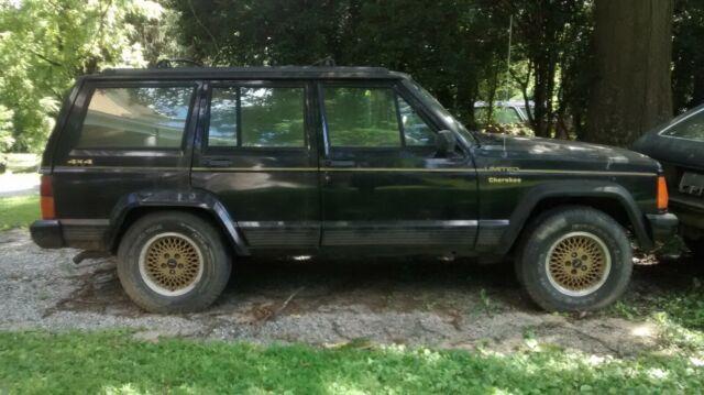 1992 jeep cherokee limited for sale photos technical specifications description. Black Bedroom Furniture Sets. Home Design Ideas
