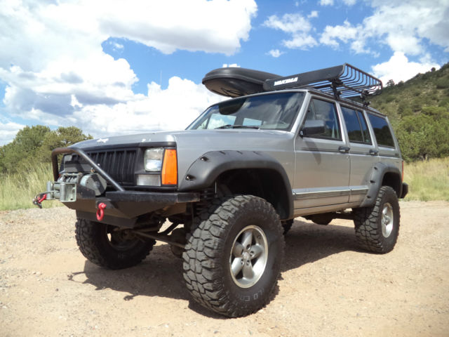 1992 jeep cherokee sport 4wd high output 4 0l lifted winch custom bumpers for sale photos. Black Bedroom Furniture Sets. Home Design Ideas