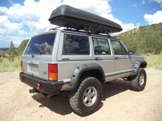 1992 Jeep Cherokee Sport 4wd High Output 4 0l Lifted Winch Custom Bumpers For Sale Photos
