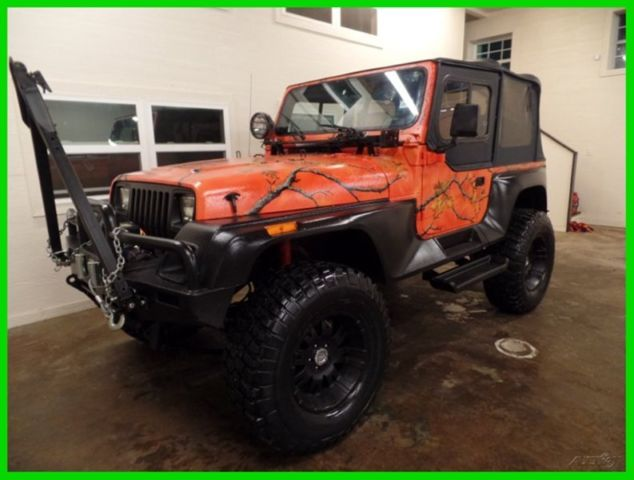 1992 jeep wrangler renegade 4 0 i6 manual custom lifted. Cars Review. Best American Auto & Cars Review