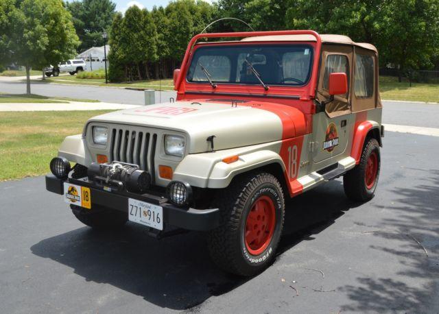 1992 jeep wrangler sahara jurassic park for sale: photos, technical