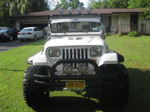 1992 Jeep Wrangler Yj Custom Built 360 Mopar Lifted With