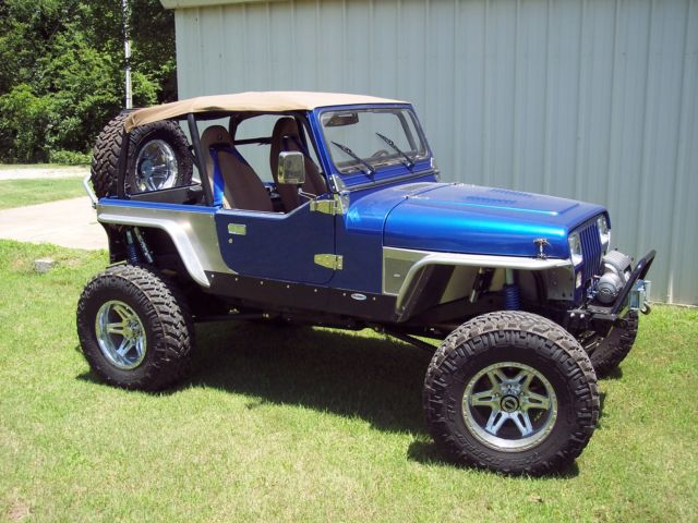 1992 Jeep Wrangler YJ full on build crawler hotrod v8