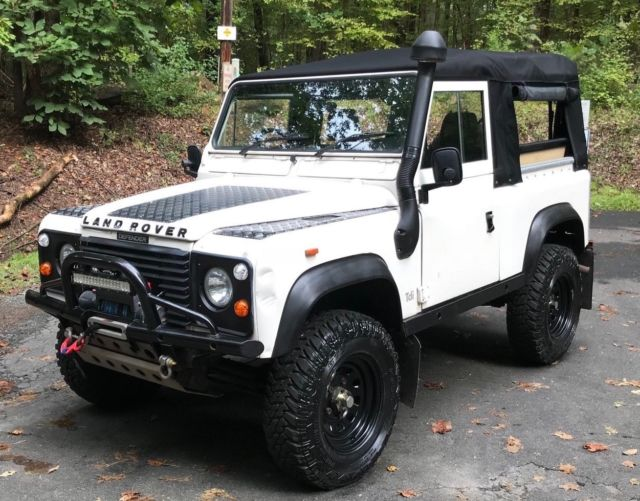 1992 land rover defender 90 soft top 200tdi turbo diesel 4x4 for