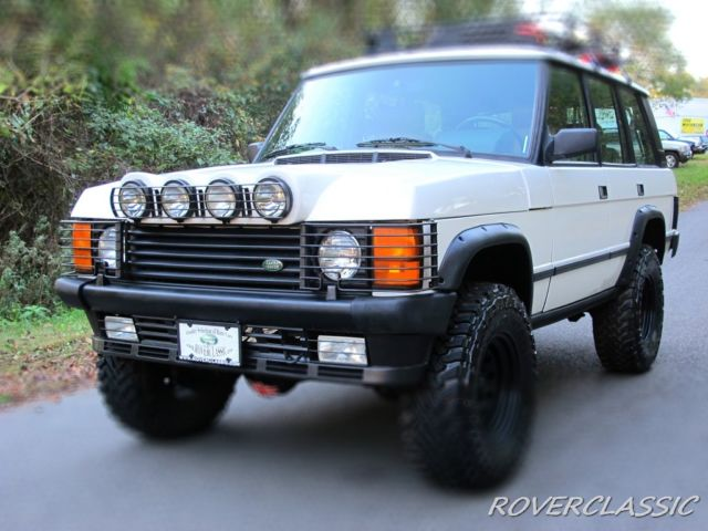 Range Rover Lifted >> 1992 Land Rover Range Rover County Se 103 342 Miles Lifted Off Road