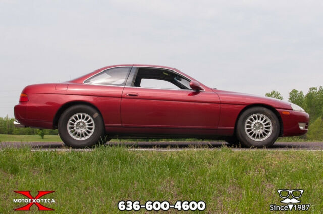 1992 Red Lexus SC with Black interior