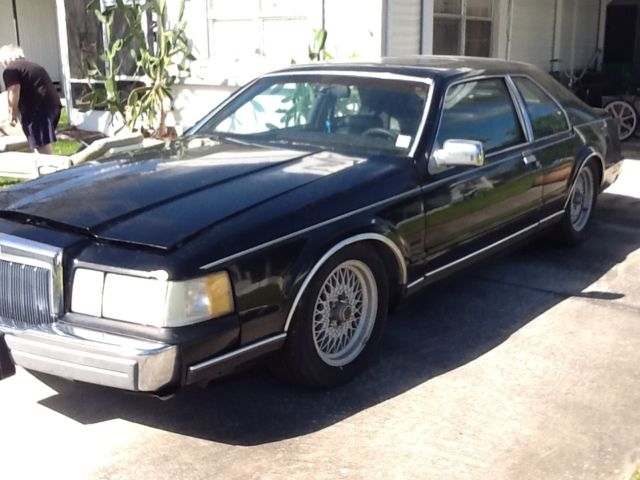 1992 Lincoln Mark Series LSC