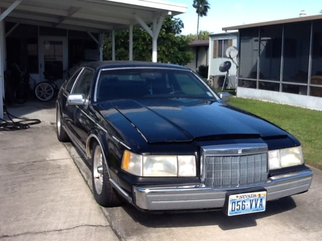 1992 Lincoln Mark 7 Great Condition 2 Door Coupe Black Moonroof Ag Wheels For Sale Photos