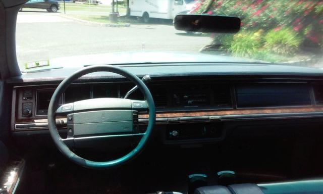 1992 Lincoln Town Car Cartier W P71 Brake Suspension Audio Upgrades