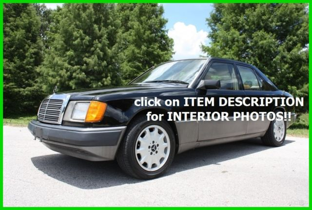 1992 Mercedes-Benz 300-Series 300D 2.5 TURBO DIESEL AUTOMATIC FLORIDA NO RESERVE