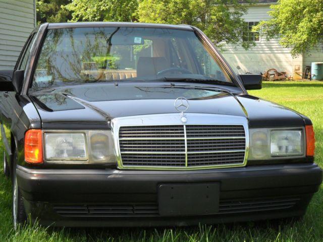1992 mercedes benz 190e - 2.3l - all original - one owner - 49k