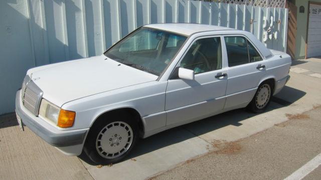 1992 mercedes benz 190e 2 6 sedan 4 door 2 6l for sale for 1992 mercedes benz 190e 2 6